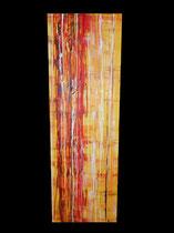 """Lifelines"" Acryl auf Leinwand, 40 x 120cm (390.-)"