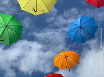 Fliegende Schirme in Esens