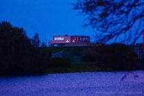 Der neue Hafensänger am Abend, aus Sicht vom Mahlbusen!