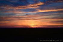 Wunderbarer Sonnenuntergang