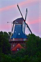 Galerieholländer Mühle in Dornum