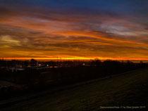 """Ein fantastischer Sonnenuntergang über der """"Ramm Siedlung"""""""
