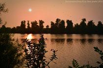 Sonnenuntergang am Mahlbusen