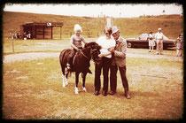 Foto vom Reitstall von Onkel Willy im Jahr 1980