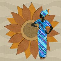 Sunflower Lady