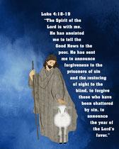 Jesus of Nazareth the Good Shepherd