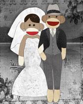 Sock Monkey Wedding