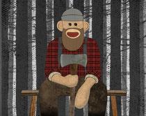 Sockmonkey Lumberjack