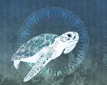 Green Sea Turtle Wreath