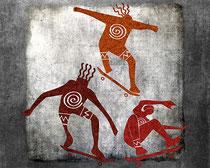 Skateboard Petroglyph