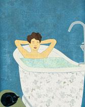Bathtub Scene