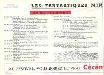 Programme 1964 Samedi 8 Aout