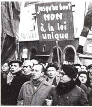 Grèves contre la loi unique,paralyse le pays