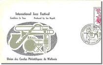 Emission du premier jour sur enveloppe spéciale 1962