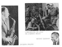 Les Belges _ L'orchestre de Jazz de L'Armee Belge _ Benoît Quersin _ Jasques Pelzer