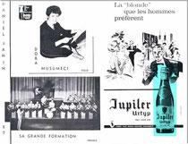 Dora Musumeci, Daniel Janin et son orchestre