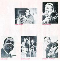 Les vedettes de jazz Messieurs