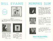 Discographie 1964 _ Bill Evans _ Memphis Slim