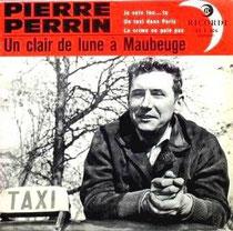 """Enveloppe du disque """"un clair de lune à Maubeuge"""""""