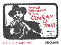 Jacquette programme 1964