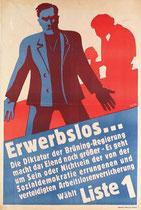 Wahlplakat 1930 ?