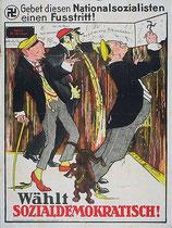Wahlplakat 1930