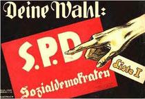 Wahlplakat 1920