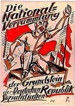 Wahlplakat 1919