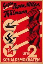 Wahlplakat 1932