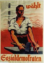 Wahlplakat 1928