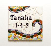 No.40     mosaico    (15×15cm) 9,500円