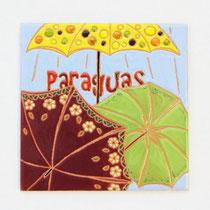 No.118  Paraguas (15×15cm) 9,500円