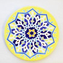 No.109 装飾用丸皿(大) イスラムの大皿 長径26cm 15,000円