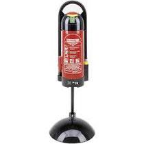Gloria Designständer für die variable Positionierung von tragbaren Feuerlöschern