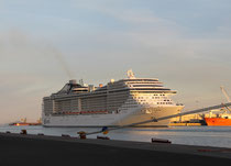 MSC Fantasia in Civitavecchia