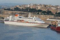 Columbus in La Valletta/Malta