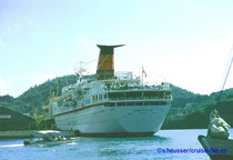 Cunard Countess - St. Thomas 1994