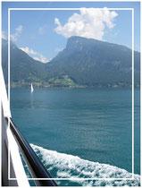 Unterwegs auf Schweizer Seen