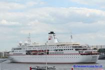 MS Deutschland in Hamburg 2008