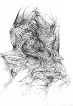 L'Addition/mine de pomb sur papier/42x30cm/2015
