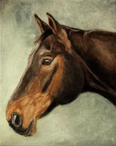 Intenso, Öl auf Leinwand, 40 x 50 cm, 2009