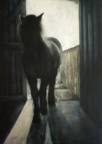 O.T., Acryl auf Leinwand, 100 x 140 cm, 2010