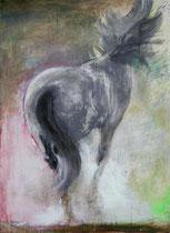 Frohsinn, Acryl auf Baumwollgewebe, 130 x 180 cm, 2007