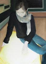 Severine, Öl auf Baumwollgewebe, 80 x 110 cm, 2008