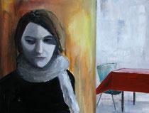 Carole, Öl auf Baumwollgewebe, 60 x 80 cm, 2005