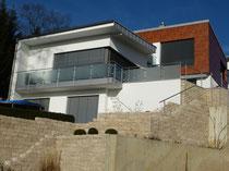 Einfamilienhaus mit Uginoxblechdach