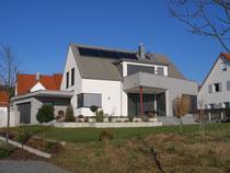 Einfamilienhaus in Titanzink