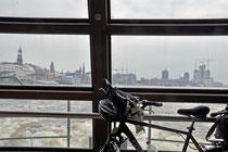 Hamburg Hafenfähre nach Finkenwerder