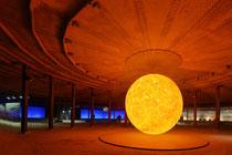 Oberhausen, Gasometer, Ausstellung Sonne Mond und Sterne