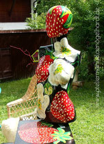 """Torso In-/Outdoor """"Erdbeere"""""""